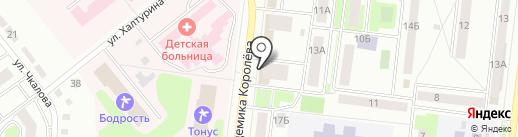 Классик на карте Октябрьского