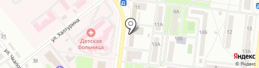 Трансагентство на карте Октябрьского