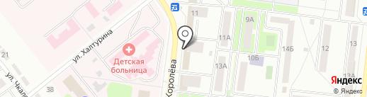 Почтовое отделение №16 на карте Октябрьского