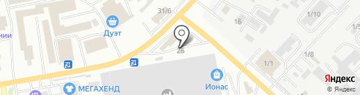 Девона на карте Октябрьского