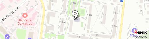 Библиотека №5 на карте Октябрьского