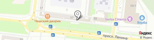 Шатура на карте Октябрьского