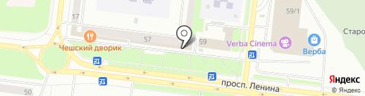 Белоснежка на карте Октябрьского