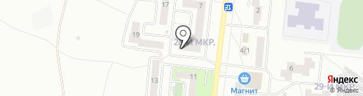 Конфетка на карте Октябрьского