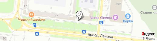 Антикварный магазин на карте Октябрьского