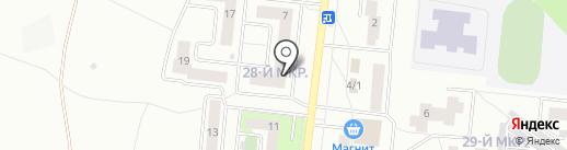 Магазин детской одежды на карте Октябрьского