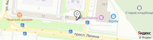 Башинформсвязь, ПАО на карте Октябрьского