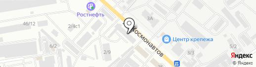 КЕДР на карте Октябрьского