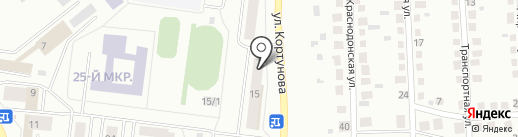 Каскад Плюс на карте Октябрьского