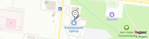 Корпорация Центр на карте Октябрьского