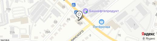 Сеть автомоек на карте Октябрьского