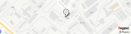 Таубаш на карте Октябрьского
