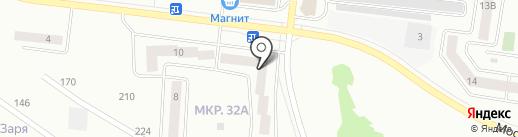 Мастер на карте Октябрьского