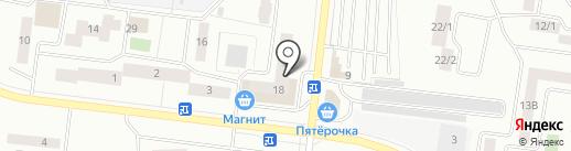Колибри на карте Октябрьского