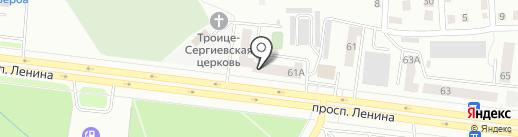 Важная Мелочь на карте Октябрьского
