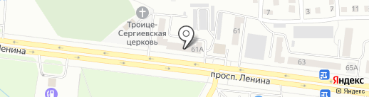 Колибри+ на карте Октябрьского