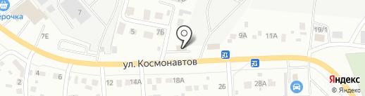Водолей на карте Октябрьского