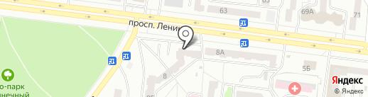 Куш-Буляк на карте Октябрьского