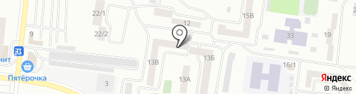 Заря на карте Октябрьского