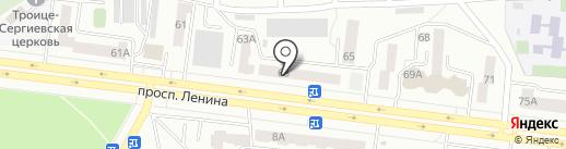 Уфанет на карте Октябрьского