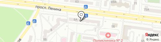 Лоск на карте Октябрьского