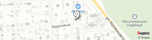 Трио-плюс на карте Октябрьского