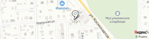 Mega flex на карте Октябрьского