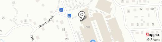 Почтовое отделение №15 на карте Октябрьского