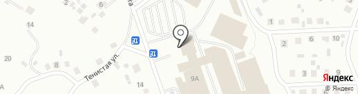 Новая Линия на карте Октябрьского