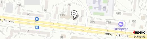 Визит на карте Октябрьского