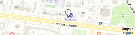 Кафе восточной кухни на карте Октябрьского