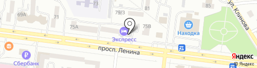 Express на карте Октябрьского