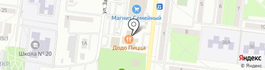 Индюшкин на карте Октябрьского