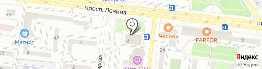 Здоровье на карте Октябрьского