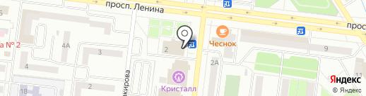 Орфей на карте Октябрьского
