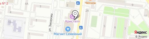 Ермолинские полуфабрикаты на карте Октябрьского