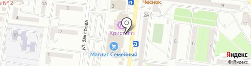 Комильфо на карте Октябрьского