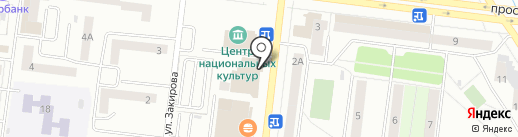 Август на карте Октябрьского