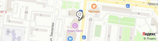 Шапкин дом на карте Октябрьского