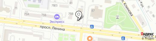 Рамир на карте Октябрьского
