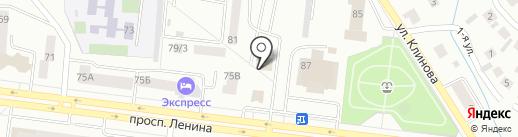Рина на карте Октябрьского