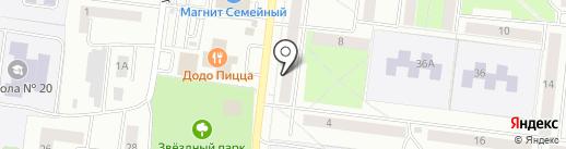 Для себя любимой на карте Октябрьского