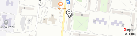 Малыш на карте Октябрьского