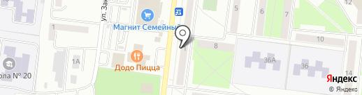 Облако на карте Октябрьского