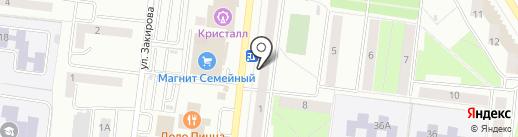 КомфортПласт на карте Октябрьского