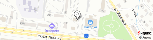 Автотрейд на карте Октябрьского