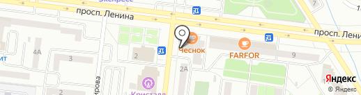Альпари на карте Октябрьского