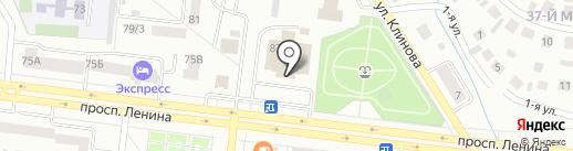 Дым & Пена на карте Октябрьского