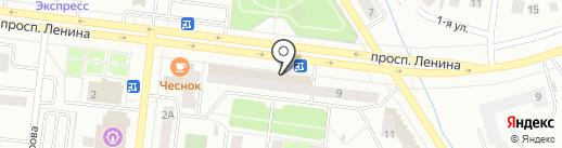 Почтовое отделение №13 на карте Октябрьского