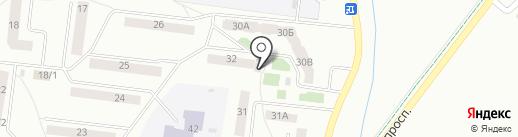 Вамин на карте Октябрьского